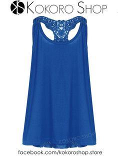 CAMISETAS SEXY CROCHET (varios colores) - REF: BLUE CM/003001   Síguenos en Instagram: @KokoroShopStore  Para pedidos o consultas, contactar mediante Facebook:  https://www.facebook.com/kokoroshop.store/    Muchas Gracias  #moda #modamujer #camisetas #woman #girls #verano #summer #summertime #cute #lovely #shopping #tiendas #compras #chicas #outfit #blue #crochet #sexy #back