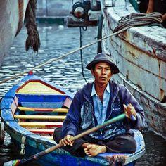 Navigating the Harbor, Jakarta, Indonesia