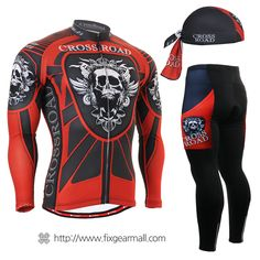 #FIXGEAR Men's #Cycling #Jersey & #Pants Set, model no CS-1301-SET, #Unique Design and Advanced Performance Fabric. ( #AeroFIX ) #MTB #Roadbike #Bicycle #Downhill #Bike #Extreme #Sportswear