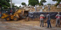 Galdino Saquarema Noticia: Restos mortais se espalharam pelas ruas do Rio após chuva..