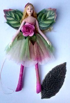 Forest Fairy Figurine | Pandora | fairy figurine ornament - pinned by pin4etsy.com