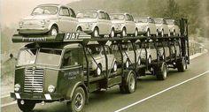 500-as szállítmány az 50-es években