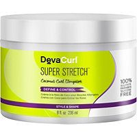 DevaCurl Super Stretch Coconut Curl Elongator weightlessly elongates, defines and moisturizes curls all in one step. Curly Hair Tips, Curly Hair Care, Natural Hair Tips, Natural Curls, Curly Hair Styles, Natural Hair Styles, Natural Hair Growth, Curly Girl, Wavy Hair