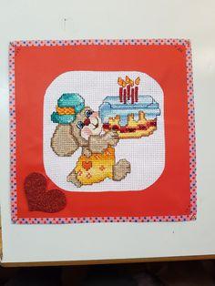 Happy Birthday 🎈🎉🎁🎂❤ #cardmaking #papercrafts #puntocroce #happybirthday #faidate #homemade #handmadecards