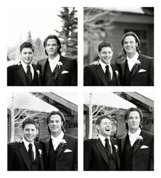at Jared's wedding...awww, look at that laugh
