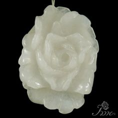 Hand carved Pendant Flower Pendant Peony Pendant Clothes Pendant F10203 #PDN #Pendant