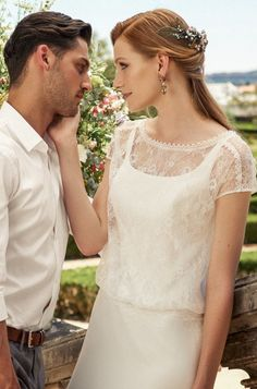 Marylise — 2017 Collection — Stacey: Falling in love many times, always with the…