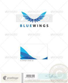 Transport Logo - 2003 — Photoshop PSD #flight #birds • Available here → https://graphicriver.net/item/transport-logo-2003/496810?ref=pxcr