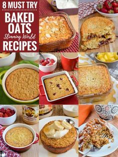 8 Must Try Baked Oats Slimming World Recipes - The perfect way to start your day is with one of these amazing recipes. If you have been doing Slimming World for quite a while, you certainly won't be new to the craze of Baked Oats. A popular, easy and fill Baked Oats Slimming World, Slimming World Puddings, Slimming World Cake, Slimming World Desserts, Slimming World Breakfast, Slimming World Recipes Syn Free, Slimming World Oat Biscuits, Slimming World Porridge, Sp Days Slimming World