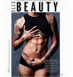 Elle India's beauty issue this May features muscular women who have sculpted their bodies and thrown every feminine stereotype out the window.