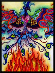 Phoenix Rising - from the Ashes of Fear...Alisa Manning...The Art Colony