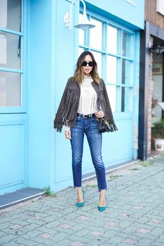 50 Jeans Outfits to Copy This Fall | StyleCaster