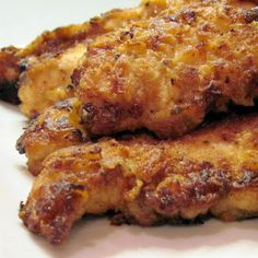 Caribbean Jerk Chicken Tenders @keyingredient #chicken