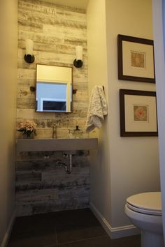 Room to Breathe Organizing and Staging using Stikwood Reclaimed Weathered Wood White!
