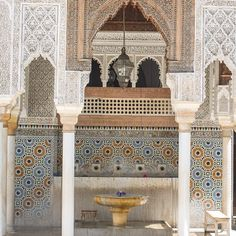 Al Quaraouiyine #University and #mosque in #Fez. It is considered the oldest University in the world still in activity. #Fes #Maroc #travel #voyage #magazine #ipad #nowmaroc