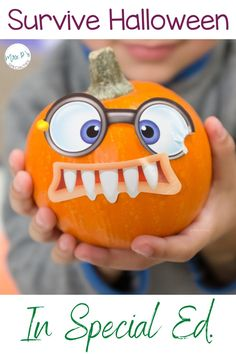 Do more than just survive Halloween in your special education or inclusion setting with these tips and ideas! Use these ideas in your lesson plans for your hands on learners who need visual supports and lots and lots of practice in order to learn skills. This blog post is a must read for teachers in autism classes, life skills programs, self-contained classrooms, pre-K, kindergarten and TEACCH. Click to read & take back Halloween!