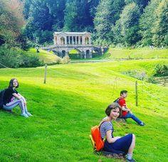 Glorious sunshine in Bath today.Visited @NTPrior park for a picnic. More on my Insta stories  #igersbath #priorpark #NT #SWNT  #SWisbest #littlefierceones #mamapreneurrevolution #snaphappybritmums #childhoodunplugged #screenfree #palladianbridge