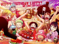 Feliz cumpleaños Luffy - Taringa!