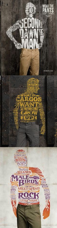nice pinterest.com/fra411 #typographic #poster - Dockers posters...