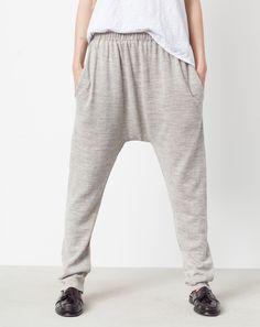 Lauren Manoogian Skinny Arch Pants in Grey