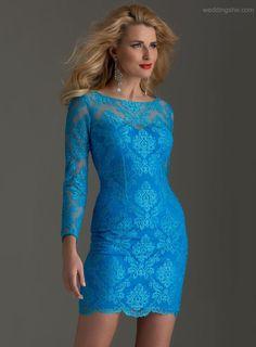 2c61e6a3575 Lace Cocktail Dress by Clarisse 2498