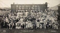 Rare Photos Of What The Circus Looked Like Nearly A Century Ago | Huffington Post