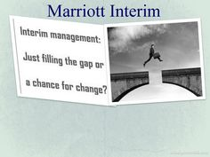 Marriott Interim provides you the best suggestion in starting up new business or performance improvement in a running business.
