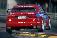 DTM- Giancarlo Fisichella in seinem 155er Alfa Romeo