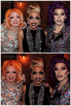The Haus of Haunt- Jinkx Monsoon, Bianca Del Rio and Sharon Needles