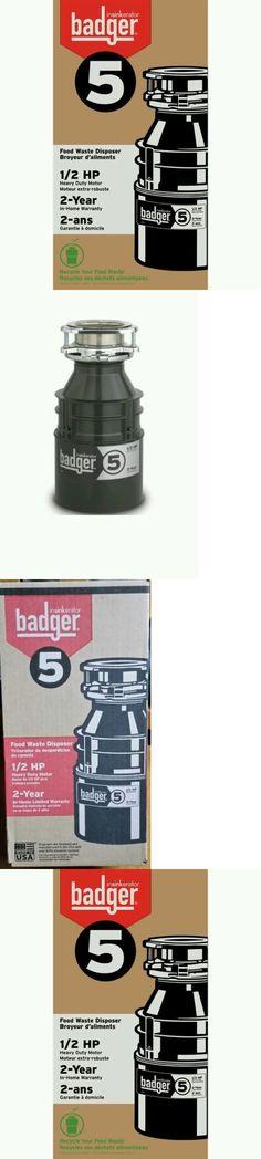 garbage disposals new 1 2 hp badger garbage disposal