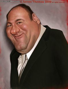 James Gandolfini (by Torren)