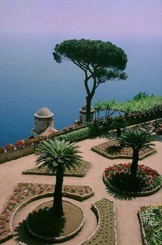 Villa Rufolo, Ravello, Italia