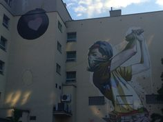 Sainer ETAMCru #mural #streetart #contemporaryart #trafficdesignfest #Gdynia