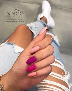 "7,106 Likes, 44 Comments - Indigo Nails (@indigonails) on Instagram: ""New Colours Yummy mummy, Mama No Drama, Don't get crazy, Porcelain Doll Photo by…"""