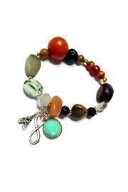 Paris Travel Bracelet: #European #Travel #Tagua Handmade in our boutique @LHOCreations for @shoptiques #ShopSmall #Paris #France #ShoppersHour #Marble #India #Jewelry