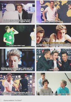 Niall and his love for Ireland