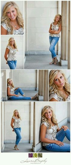 simple poses for senior photography Senior Portraits Girl, Senior Girl Poses, Girl Senior Pictures, Portrait Poses, Senior Girls, Senior Posing, Senior Session, Poses Photo, Pic Pose