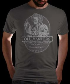 """""""Ollivander's Fine Wands"""" today on Qwertee : Limited Edition Cheap Daily T Shirts 