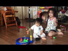 Bé Na và bộ đồ chơi câu cá - BÉ Na Câu cá vàng bơi - Kids Toy Fish Game ...