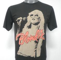 4dcde63a9fb Blondie Debbie Harry Punk Rock Music Tshirt Size M