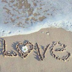 Heart in the sand foamy waves beach love I Love The Beach, All You Need Is Love, Summer Of Love, My Love, Pink Summer, Summer Beach, Summer 2016, Beach Quotes, Beach Sayings