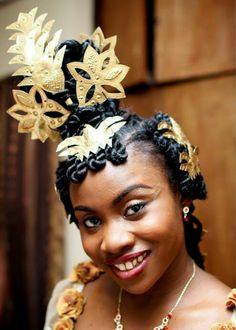 Nigerian Weddings: Akwa Ibom Traditional Engagement Wedding Attire, The Tradition, Culture & Attire Wedding Attire, Wedding Engagement, Nigerian Weddings, African Weddings, African Tribes, African Americans, Nigerian Culture, African Traditional Dresses, People Of The World