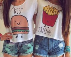 19 Matching Best Friend Shirts & Accessories That Aren't Cheesy At All | Bustle