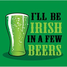 St Patricks Day Craft beer
