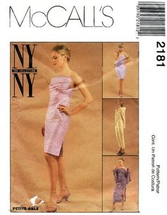 McCall's 2181 Feisty Dress or Top, Hooded Jacket, Pants & Skirt 1999 Mccalls Patterns, Sewing Patterns, Skirt Pants, Hooded Jacket, Strapless Dress, Two Piece Skirt Set, Skirts, Jackets, Collection