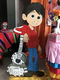 Erica D's Birthday / Coco - Photo Gallery at Catch My Party Mexican Birthday, Circus Birthday, Mexican Party, 1st Boy Birthday, Boy Birthday Parties, Party Props, Party Ideas, Second Birthday Ideas, Birthday Party Centerpieces
