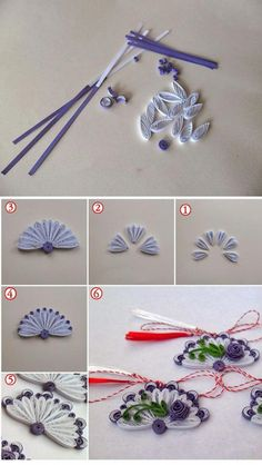 Quilling Instructions, Paper Quilling Tutorial, Paper Quilling Patterns, Origami And Quilling, Quilling Paper Craft, Quilling Flowers, Quilling Cards, Quilling Designs, Paper Flowers