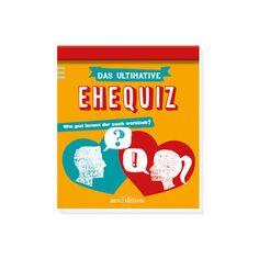 Ehequiz: Das Buch beinhaltet 111 lustige und spannende Quizfragen für Sie und Ihn zum Raten, Staunen und Lachen.