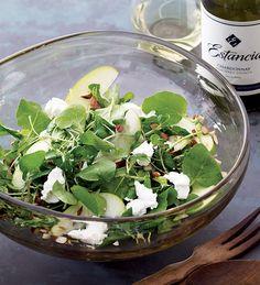 Watercress & Goat Cheese Salad