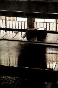 Houshi hot spring in Gunma, Japan